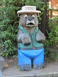 Image for Smokey Bear Carving - Garberville, CA