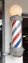 Image for Crown Barber Shop Pole  -  Coronado, CA