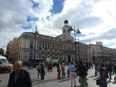 Real casa de correos madrid spain satellite imagery for Casa de correos madrid