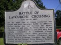 Image for Battle of Lafourche Crossing
