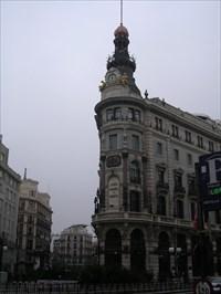Edificio Banco Espanol De Credito Madrid Spain Flatirons On