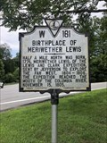 Image for The Birthplace of Meriwether Lewis - Ivy, Virginia