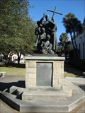 Image for Father Pedro Camps Statue - St. Augustine, FL