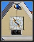 Image for Town clock - Musikschule (Music school), Mindelheim, Germany