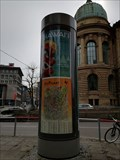 Image for Modern Lifaßsäule - Schloßstraße - Stuttgart, Germany, BW