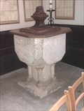 Image for Baptism Font, St Mary -Usk, Monmouthshire