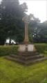 Image for Combined WWI / WWII memorial cross - St John the Baptist - Charlton, Wiltshire