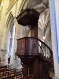 Image for Chaire à prêcher - Église Saint-Michel - Pont-l'Évêque, France