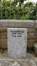 Image for Afghanistan-Iraq War Memorials - St Ives Cornwall, United Kingdom