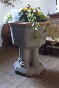 Image for Font, St.John and St.Giles Church, Great Easton, Essex