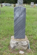 Image for FIRST Burial in Payne Cemetery - Henderson County, TX