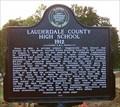 Image for Lauderdale County High School 1912 - Rogersville, AL