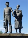 Image for Coal Miner and His Family - Llwynypia - Rhondda - Wales.