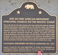 Image for First African Methodist Episcopal Church on the Pacific Coast