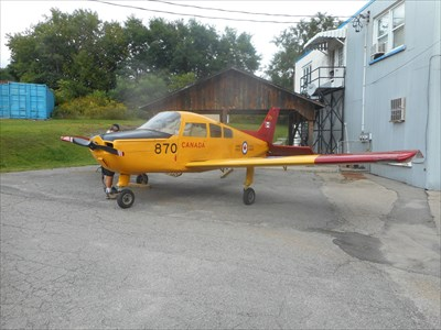 Beech Musketeer 134217 - Brockville, ON - Static Aircraft