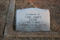 Image for Carl James Estep -- Highland Cemetery, Melissa TX