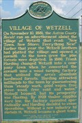 Image for Village of Wetzell