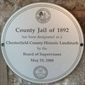 Image for County Jail of 1892 - Chesterfield, VA