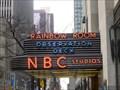 Image for NBC Studios Sign - New York, NY