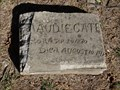 Image for Maudie Cates - Gordonville Cemetery - Gordonville, TX