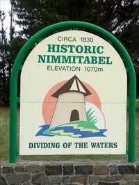 The Welcome Sign - Dividing of the Waters.1219, Sunday, 30 December, 2018