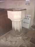 Image for Baptism Font, St Andrew - Cranford St Andrew, Northamptonshire