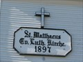 Image for 1897 - St. Matthews Lutheran Church - Spring Valley, Wisconsin