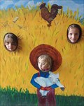 Image for Farmyard Photo Cutout - Apple Valley, MN