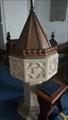 Image for Baptism Font - St Peter - Henley, Suffolk
