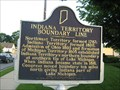 Image for Indiana Territory Boundary Line - La Porte, IN