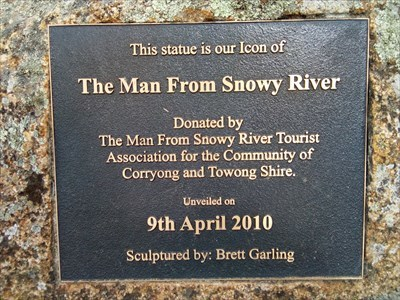 The plaque for the sculpture. 1026, Monday, 31 December, 2018