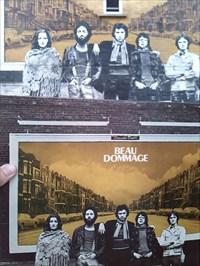 La murale avec ma pochette originale!
