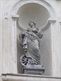Image for Svatá Katerina  na prucelí kostela - Praha, Czech republic