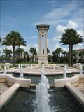 Image for Champions Gate Clock Tower Fountain