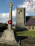 Image for WWII Memorial Cross - Oystermouth, Wales.