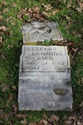Image for OLDEST Legible Tombstone in Ramsey Cemetery - Stephenville, TX