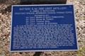 Image for Battery C, 1st Ohio Light Artillery Plaque - Chickamauga National Military Park