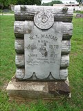 Image for W.T. Manar - Green Hill Cemetery - Davis, OK