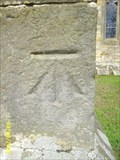 Image for Cut bench mark East Hoathly Parish Church, East Sussex
