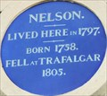 Image for Lord Horatio Nelson - New Bond Street, London, UK