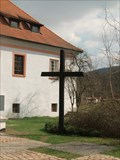 Image for Cross at Church of St. Judas Thaddaeus, Dobrichovice, CZ
