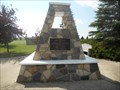 Image for North West Mounted Police and Royal North West Mounted Police Memorial - Battleford, Saskatchewan, Canada