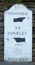 Image for Milestone - Burnley Road, Holme Chapel, Lancashire, UK.