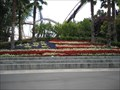 Image for American Flag Topiary - Santa Clara, CA