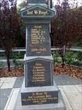 Image for Clarendon Cenotaph - WW2 - Clarendon, SA, Australia
