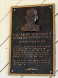 "Image for D.A. ""Andy"" Anderson - College Station, TX"