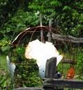 Image for Garden Sculpture Earth Globe - Scotland, Ontario