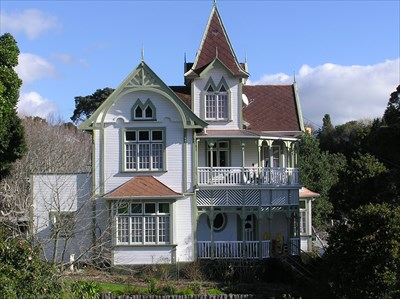 Early settlers house new plymouth new zealand for New victorian homes
