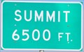Image for Interstate 15 Northbound ~ Beaver South Summit, 6500 feet