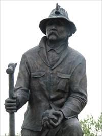 Kneeling Miner - Route 66